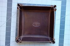 NEW Valet tray in the EXECUTIVE leather series.American Executive leather ReTan