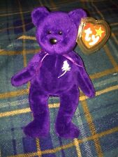 Princess Diana Beanie Baby 1997 Indonesia PVC Pellets And No Gap In Poem