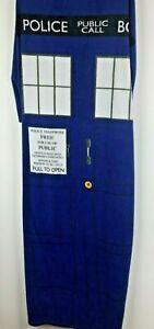 "Doctor Who TARDIS Dress Halloween Party Costume Adult Fleece Phone Box 55""x67"""