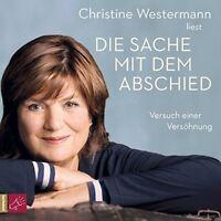DIE SACHE MIT DEM ABSCHIED -WESTERMANN,CHRISTINE  5 CD NEW WESTERMANN,CHRISTINE