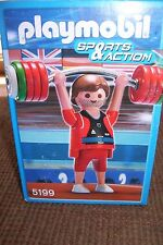 Playmobil 5199 Sports & Action male gymnast Weight Lifter