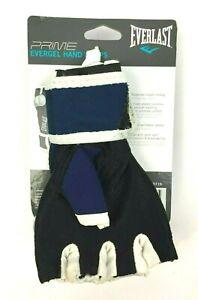 Everlast Prime EverGel Foam Padding Hand Wraps Gloves Navy Blue - Medium