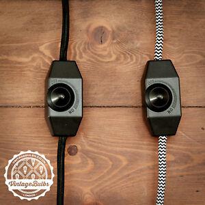 Pendant Lamp Dimmer Kit Retro Vintage Style inline switch Optional Holder