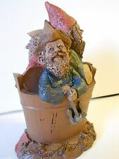 """Nos Vtg Tom Clark Gnome """"Butch, Wick, Biscuit"""" '83, Ed #42, The Men in a Tub"""