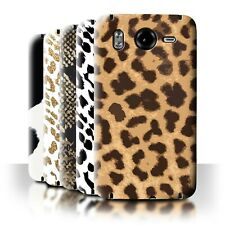 STUFF4 Back Case/Cover/Skin for HTC Desire HD/G10/Fashion Animal Print Pattern