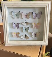 George 3D Home Butterfly Wall Art Picture Frame