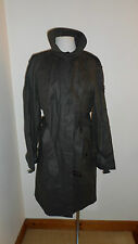Size 12 Brown Stormy Weather Trench Coat in a Cotton Blend by French Connection