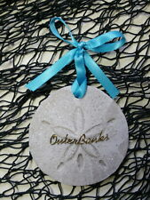 OUTER BANKS Sand Dollar Made wilth Sand Beach Ornament