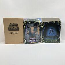 MOTUC Mer-Man Masters of the Universe Filmation Club Grayskull Super7 Rare USA 2
