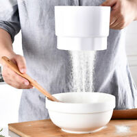 Electric Plastic Cup Flour Shaker Battery Operated Baking Tool Practical H New