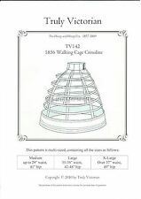 Sewing Pattern Truly Victorian 1856 Walking Cage Crinoline all sizes TV142