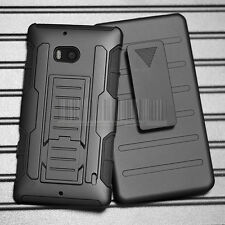 Shockproof Rugged Holster Hybrid Case Hard Cover For Nokia Lumia Icon 929 930