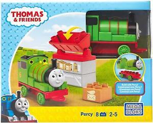 Mega Bloks Thomas & Friends Mailman Percy Building Set (8 Pieces) Train Boys Toy