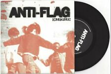 """Anti-Flag """"Emigre"""" 7"""" VG+ Orig OOP Rise Against Strike Anywhere Nofx The Unseen"""