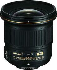 Nikon AF-S FX NIKKOR 20mm f/1.8G ED Fixed Lens with Auto Focus for Nikon DSLR