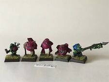 Warhammer Orcs and Goblins   - Squig Herders - Cabe Squigs - Resin / Finecast