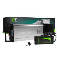 E-Bike Akku 24V 8.8Ah Li-Ion Elektrofahrrad Rear Rack Batterie mit Ladegerät
