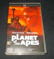 PLANET OF THE APES VHS PAL BIG BOX EX RENTAL 2002 RELEASE