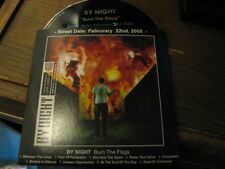 By Night Burn The Flags Promo CD Metalcore Lifeforce