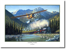 Canadian Classics by Ross Buckland - Noorduyn Norseman - Aviation Art Print
