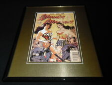 Wonder Woman #184 Framed 11x14 Repro Cover Display
