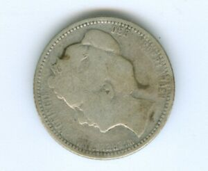 NETHERLANDS 1903 25 CENTS--CIRCULATED