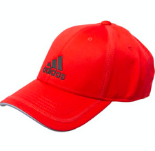 Adidas Hat Strapback Contract Baseball Cap Adjustable One Size - Scarlet Red