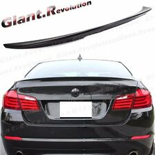 Painted P Type Trunk Spoiler Add Tail For BMW 11-2016 F10 528i 535ixD 550d Sedan