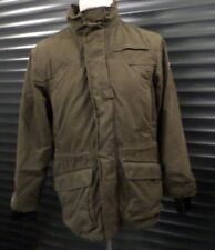 Fjall Raven Women's Winter Jacket Quilted Khaki Green G-1000 Size S Small