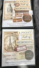 Debbi Moore Design 2 Cd Roms Pocket Full Of Memories Projects And Videos