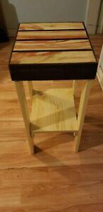 Gun concealment Exotic wood table