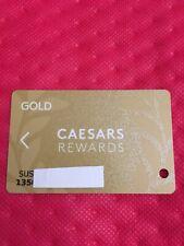 Caesars Rewards Gold Card Prefix #135©️2019