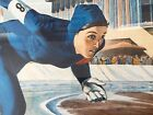 NELSON,WILLIAM OLYMPIC SKATER SHEILA YOUNG HAND SIGNED AND NUMBERED LITHOGRAPH