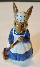 Vintage Royal Doulton Beatrice Potter Bunnykins Clean Sweep Figurine