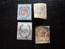 MALTE - timbre yvert et tellier n° 29 30 33 42 obl (L1) stamp malta