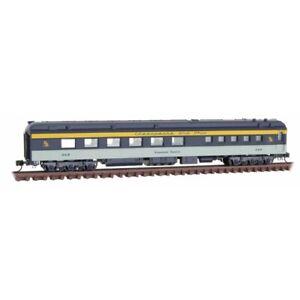 N Scale - MICRO-TRAINS LINE 146 00 410 CHESAPEAKE & OHIO Heavyweight Diner Car