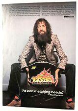 Fleetwood Mac / Mick Fleetwood / 1978 Ludwig Drum Heads Magazine Print Ad + Dvd