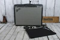 Fender® '65 Twin Reverb Electric Guitar Amplifier Tube Amp w Footswitch & Cover