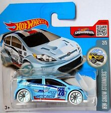 HOT WHEELS '12 FORD FIESTA HW SNOW STORMERS [R]