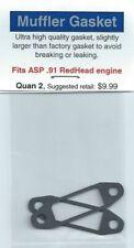 ASP .91 RedHead Exhaust/Muffler Gasket 2 Pack NIP