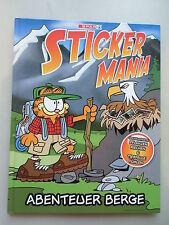 Sammelbilderalbum Sticker Mania Abenteuer Berge