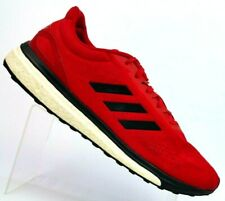 883676e9dcbd Adidas Response Boost Red Black Running Athletic Shoe BB2959 Men s 14