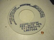 "Norton 32A80-M8VBE Grinding Wheel 12"" x 0.25"" x 5"""