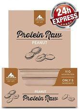 Multipower Protein Raw Bar, 20 x 45 g Riegel (Peanut)