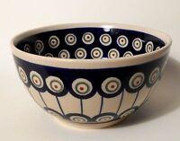 Schöne Obst- bzw. Müslischale aus Bunzlauer Keramik, Durchmesser 14 cm (*5001)