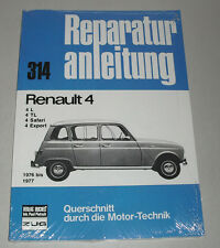 Reparaturanleitung Renault 4 / R4 L / TL / Safari / Export, ab 1976