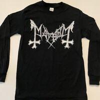 MAYHEM T shirt Long Sleeve Lords Of Chaos Celtic Frost Bathory Venom Black Metal