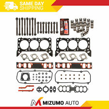 Head Gasket Set Bolts Lifters Fit 97-98 Ford Thunderbird Mustang Mercury 3.8 RWD