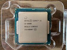 Intel Core i5 i5-6600 Quad-Core 3.30 GHz CPU