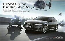 Prospekt / Brochure Audi A1 A3 A5 A6 A7 Q3 Q5 S line style Sonderedition 03/15